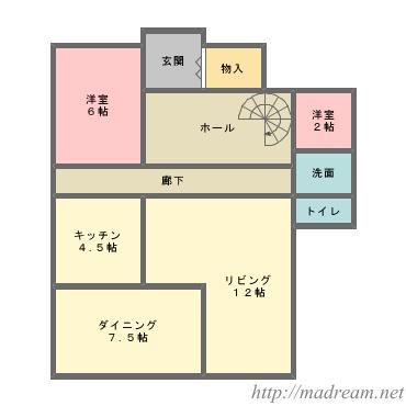 【間取り図集】5