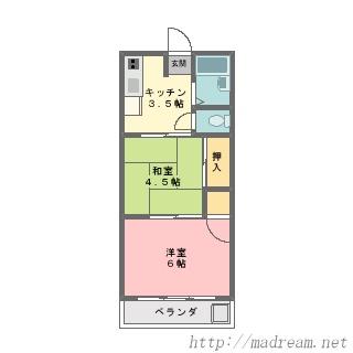 【間取り図集】サンプル No.13