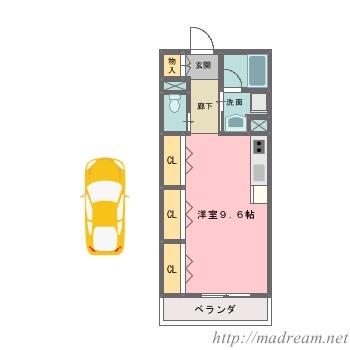 【間取り図集】サンプル No.2