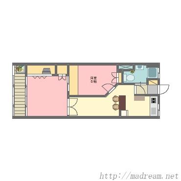 【間取り図集】plan2 3部屋 5部屋