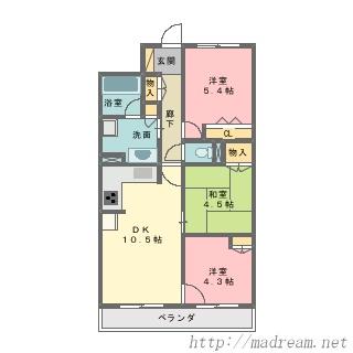【間取り図集】サンプル No.23