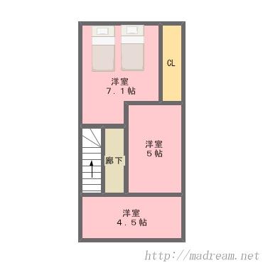 【間取り図集】本郷六丁目