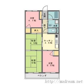 【間取り図集】サンプル No.27