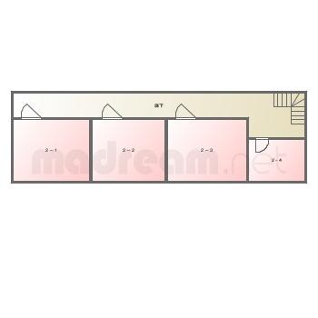 【間取り図集】悪霊の家MAP