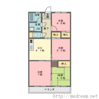 【間取り図集】サンプル No.29