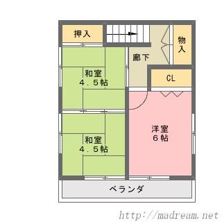 【間取り図集】サンプル No.30