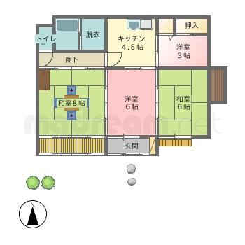 【間取り図集】日本家屋