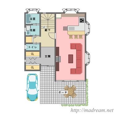 【間取り図集】憩の家
