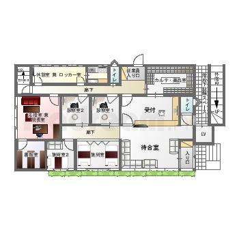 【間取り図集】雑居ビル