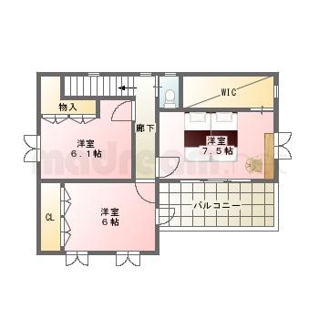 【間取り図集】5-12