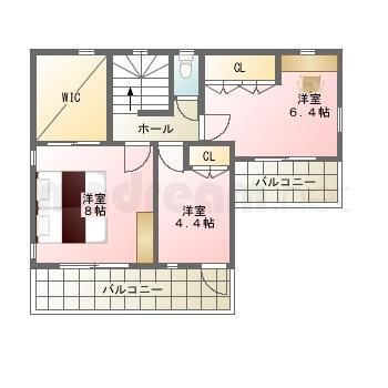 【間取り図集】6-6