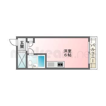 【間取り図集】ロイヤル三津屋D
