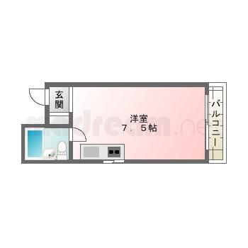 【間取り図集】ロイヤル三津屋F
