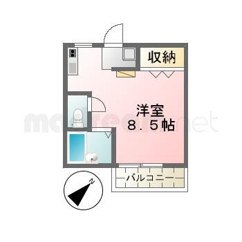 【間取り図集】仲村さん物件301ルーニベア