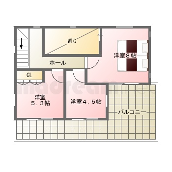 【間取り図集】7-3-1