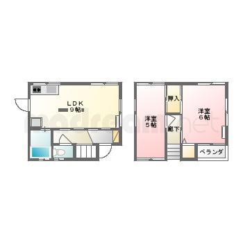 【間取り図集】西田様貸家