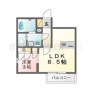 【間取り図集】ルミエール藍