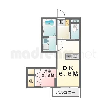 【間取り図集】ルミ2.6号室