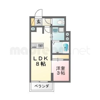 【間取り図集】ルミ7