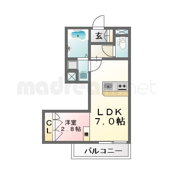 【間取り図集】3.6号室