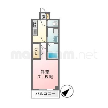【間取り図集】テラス浦安 506