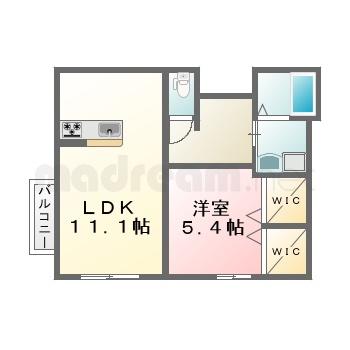 【間取り図集】仮 堀江2丁目 102