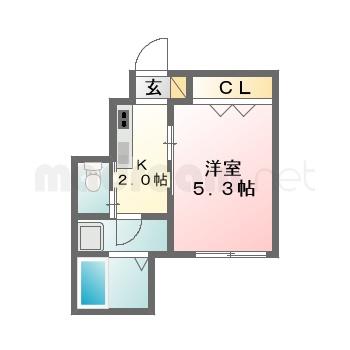 【間取り図集】プライムシティ天台