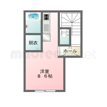 【間取り図集】higashimukou6syakuchi