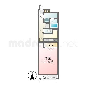 【間取り図集】フーガ 402