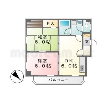 【間取り図集】ベアーマンション 103