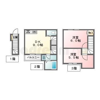【間取り図集】プライムシティ天