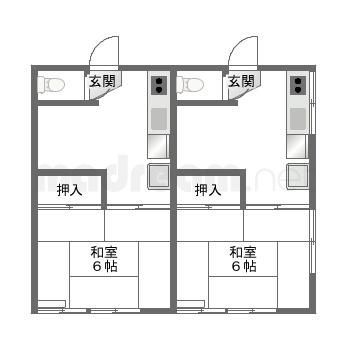 【間取り図集】NS 202.203