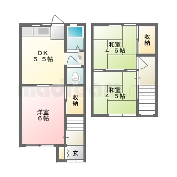 【間取り図集】山本アパート