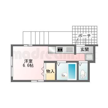 【間取り図集】プリュネル101号