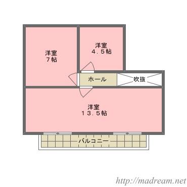 【間取り図集】ノーマルプラン