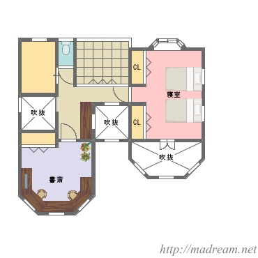 【間取り図集】シアタールームのある家