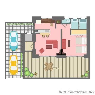 【間取り図集】別荘