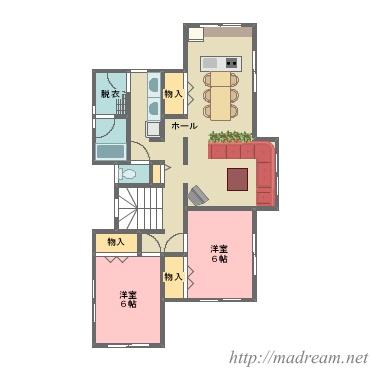 【間取り図集】全員集合住宅