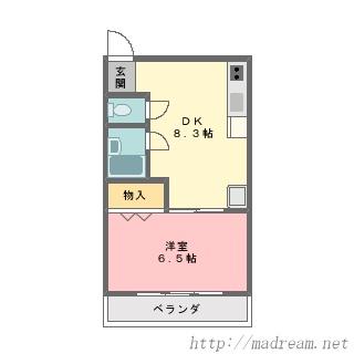 【間取り図集】サンプル No.6
