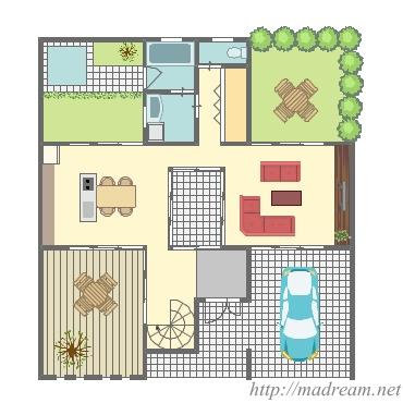 【間取り図集】+な家