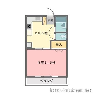 【間取り図集】サンプル No.7