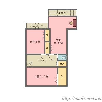 【間取り図集】祇園の家
