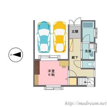 【間取り図集】my home