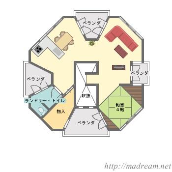【間取り図集】デザイナーズハウス