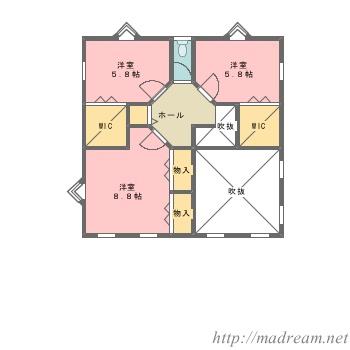 【間取り図集】デザイナーズハウスⅢ