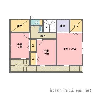 【間取り図集】★クリッカブルマップのSample★