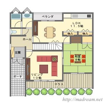 【間取り図集】家